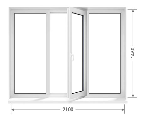 Металлопластиковые окна KБE